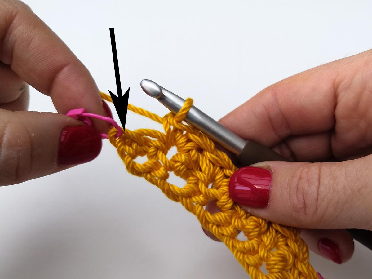 Hoe haak ik de grit stitch