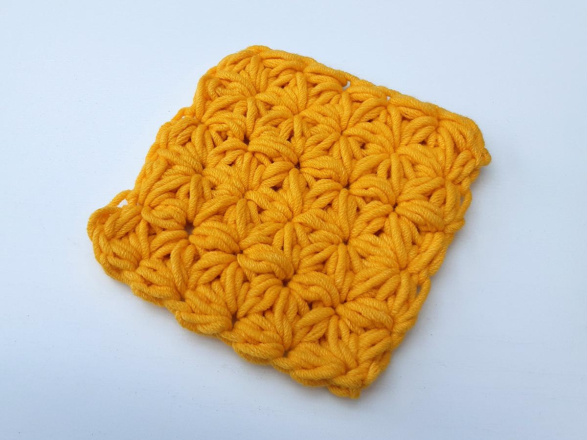 De Jasmijn steek- jasmine stitch