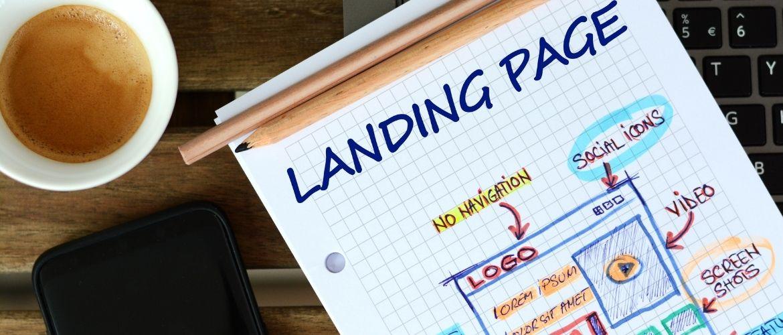 Geld inzamelen communicatie landingspagina