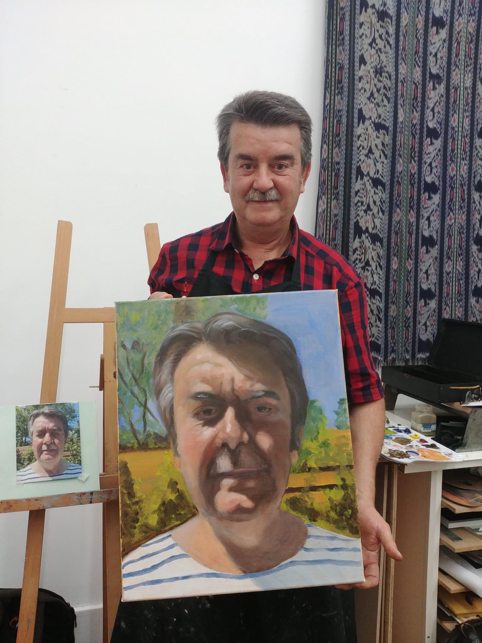 Zelfportret.