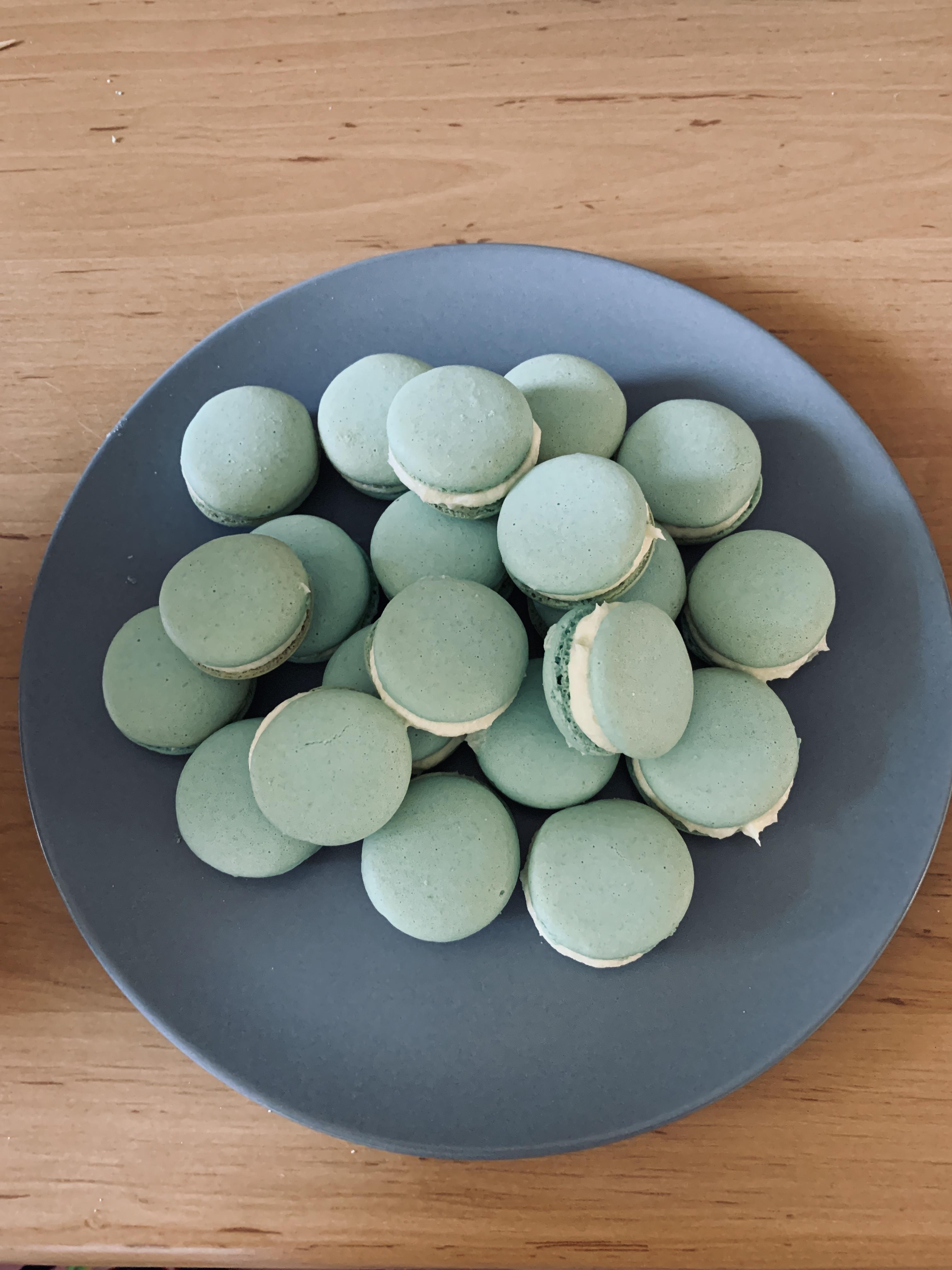 Allereerste macarons